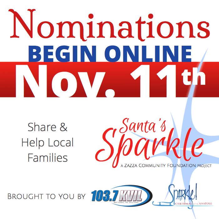 Nominations for Families in Need