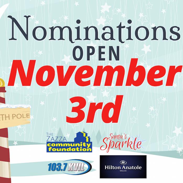 Nominations open November 3rd
