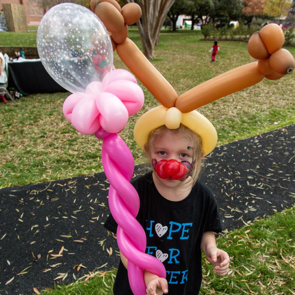 Santa's Sparkle 2013 Boy Balloons